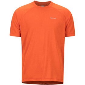 Marmot Accelerate SS Shirt Men orange haze heather